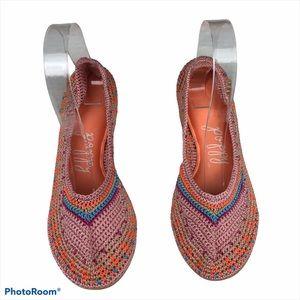 Poppy Crochet Ballet Flats